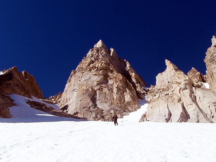 Climbing the sawtooths in California's Sierra Nevada