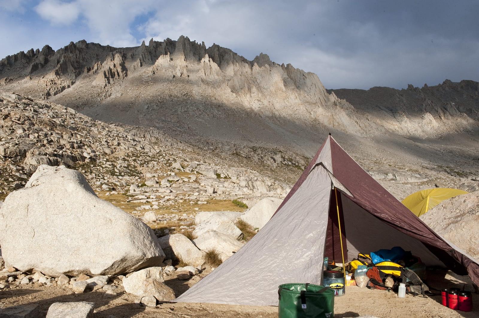 Backpacking Tarp Shelter