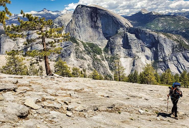 Backpacking Yosemite Falls Loop